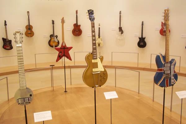musical instrument museum s guitar display roadtripsforcouples. Black Bedroom Furniture Sets. Home Design Ideas