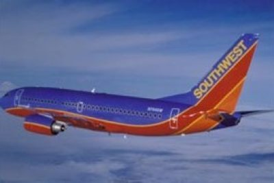 "Southwest Airlines is Number 7 in the ""Top Ten Airlines"""