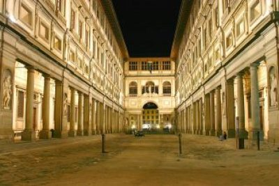 Uffizi Night Shot