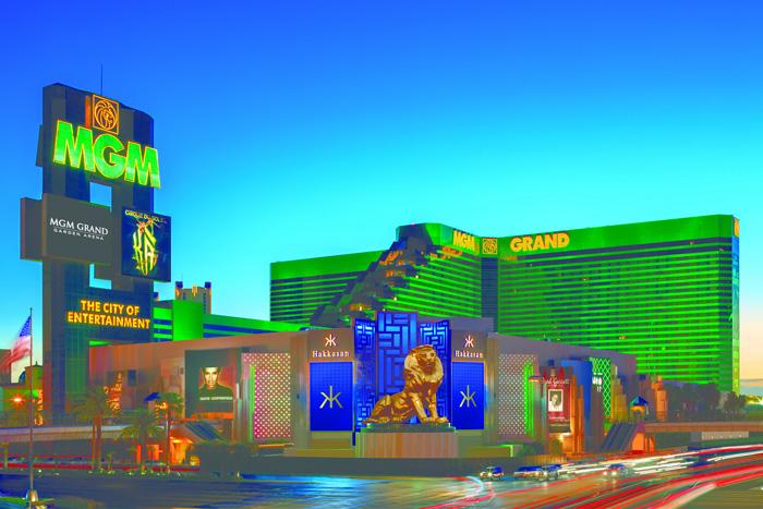 MGM Grand - Exterior