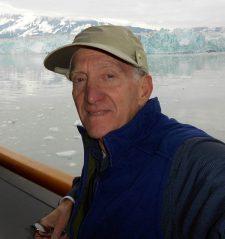 Hubbard Glacier & My Tilley Cap